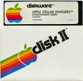 Apple Stellar Invaders - Disc
