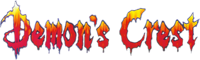 Demon's Crest - Clear Logo