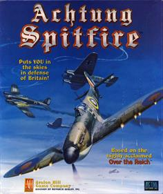 Achtung Spitfire! - Box - Front