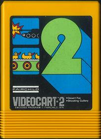 Videocart-2: Desert Fox & Shooting Gallery - Cart - Front
