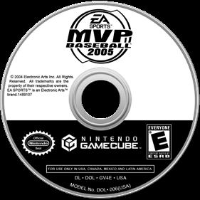 MVP Baseball 2005 - Disc