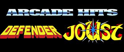 Arcade Hits: Joust & Defender - Clear Logo