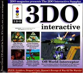 3DO Magazine: Interactive Sampler No 01