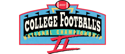 College Football's National Championship II - Clear Logo