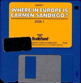 Where in Europe is Carmen Sandiego? - Disc