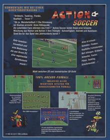 Action Soccer - Box - Back
