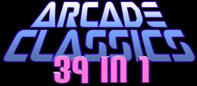 39 In 1 (MAME Arcade Classics Bootleg) - Clear Logo