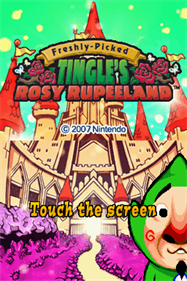 Freshly-Picked: Tingle's Rosy Rupeeland - Screenshot - Game Title
