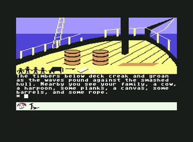 Swiss Family Robinson - Screenshot - Gameplay