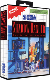 Shadow Dancer: The Secret of Shinobi - Box - 3D