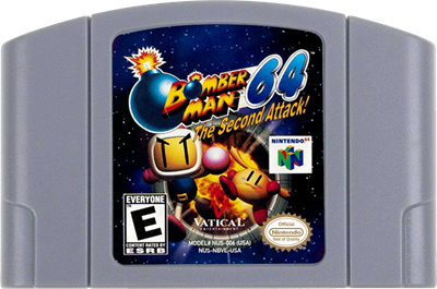 Bomberman 64: The Second Attack! - Cart - Front