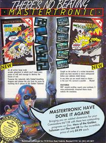 The Last V8 - Advertisement Flyer - Front