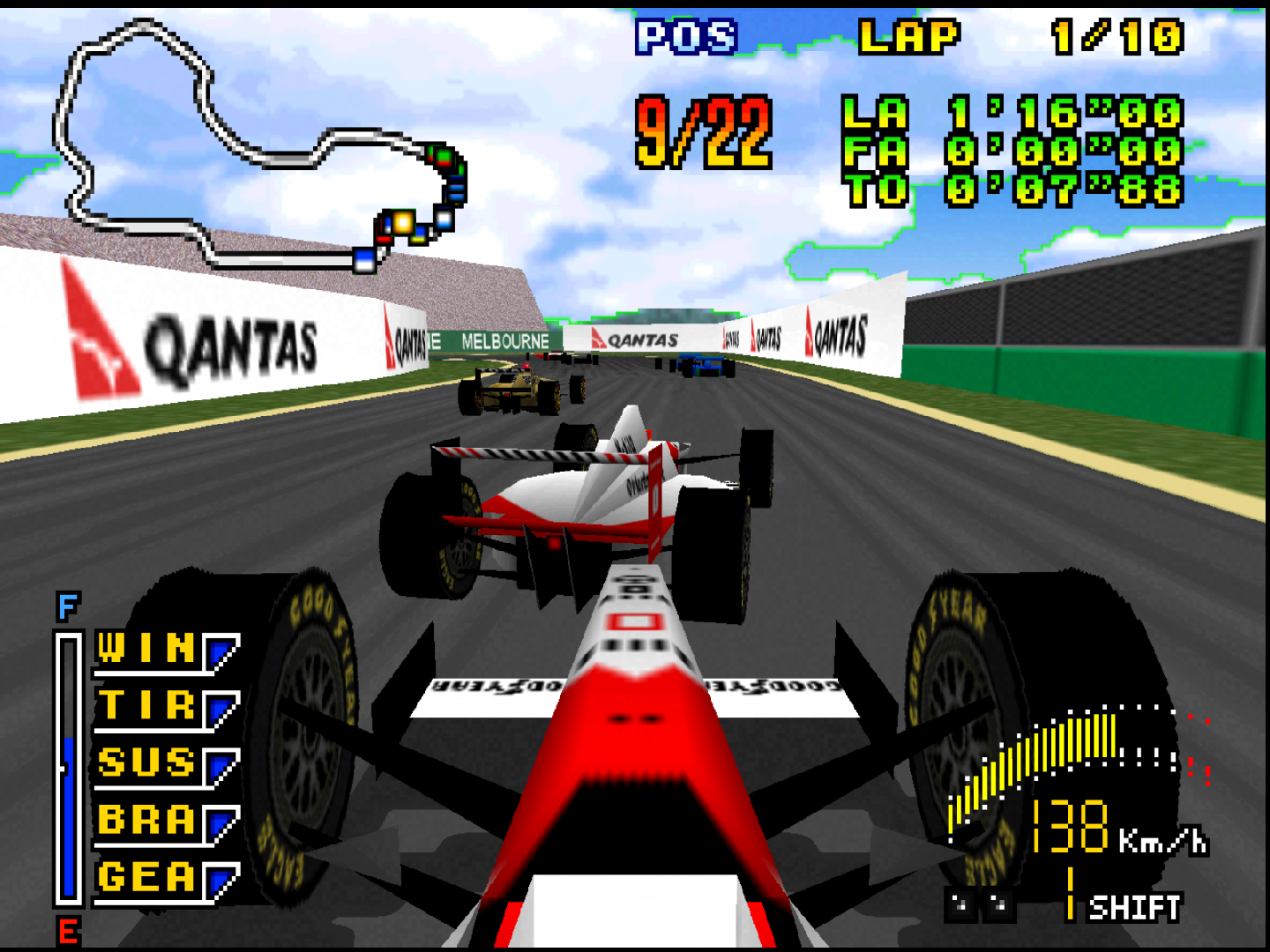 F1 Pole Poistion 64