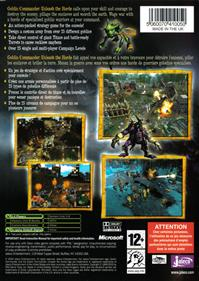 Goblin Commander: Unleash the Horde - Box - Back