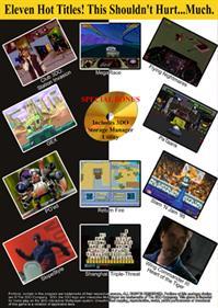 The 3DO Interactive Sampler CD #3 - Box - Back