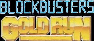 Blockbusters: Gold Run - Clear Logo