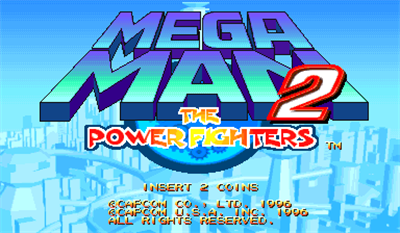Mega Man 2: The Power Fighters - Screenshot - Game Title