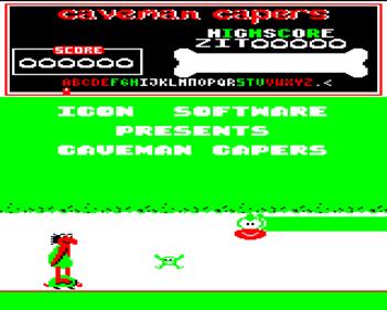 Caveman Capers - Screenshot - Gameplay