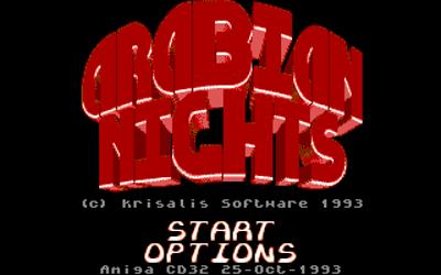 Arabian Nights - Screenshot - Game Title