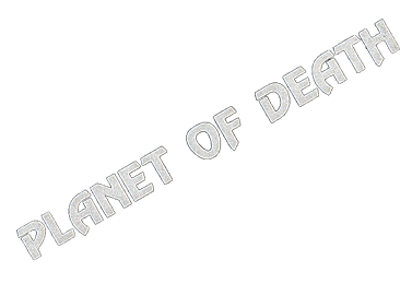 Adventure A: Planet of Death - Clear Logo