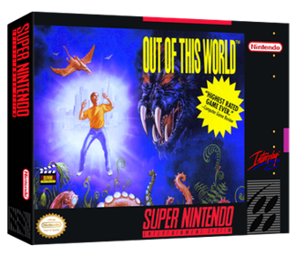 Out of This World - Box - 3D