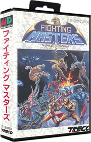 Fighting Masters - Box - 3D