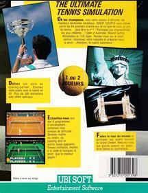 Pro Tennis Tour  - Box - Back