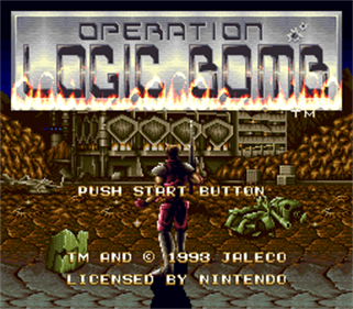 Operation Logic Bomb: The Ultimate Search & Destroy - Screenshot - Game Title