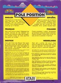 Pole Position - Box - Back