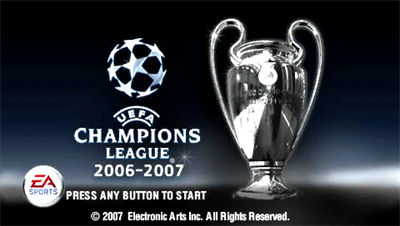 UEFA Champions League 2006-2007 - Screenshot - Game Title