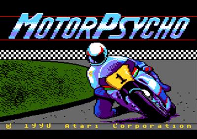 Motor Psycho - Screenshot - Game Title