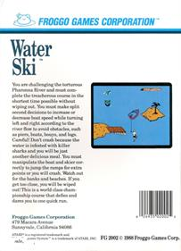 Water Ski - Box - Back
