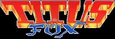Titus the Fox - Clear Logo