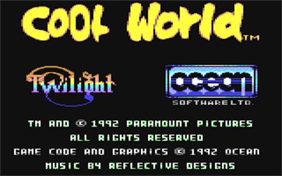 Cool World - Screenshot - Game Title