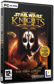 Star Wars: Knights of the Old Republic II: The Sith Lords - Box - 3D