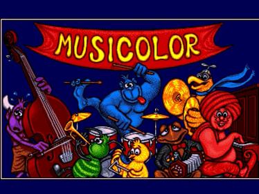 Musicolor - Screenshot - Game Title
