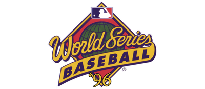 World Series Baseball '96 - Clear Logo