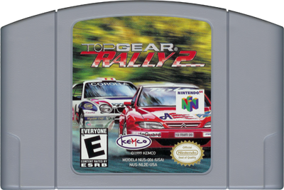 Top Gear Rally 2 - Cart - Front