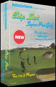Chip Shot: Super Pro Golf - Box - 3D
