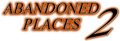 Abandoned Places 2 - Clear Logo