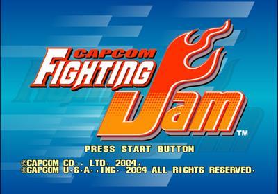 Capcom Fighting Evolution - Screenshot - Game Title