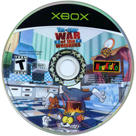 Tom & Jerry in War of the Whiskers - Disc