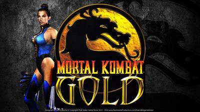 Mortal Kombat Gold - Fanart - Background