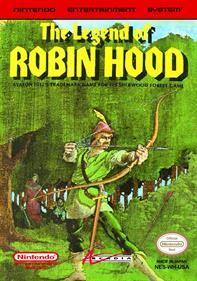 The Legend of Robin Hood - Fanart - Box - Front