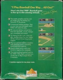 Pete Rose Baseball - Box - Back