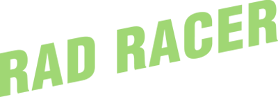 Rad Racer - Clear Logo
