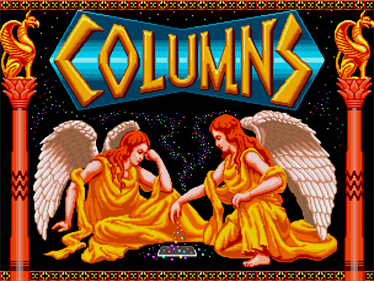Columns - Screenshot - Game Title