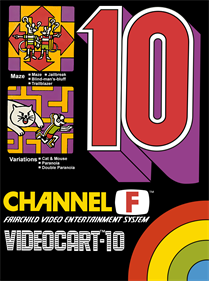 Videocart-10: Maze, Cat and Mouse