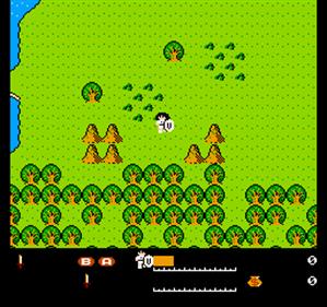 Valkyrie no Bouken: Toki no Kagi Densetsu - Screenshot - Gameplay