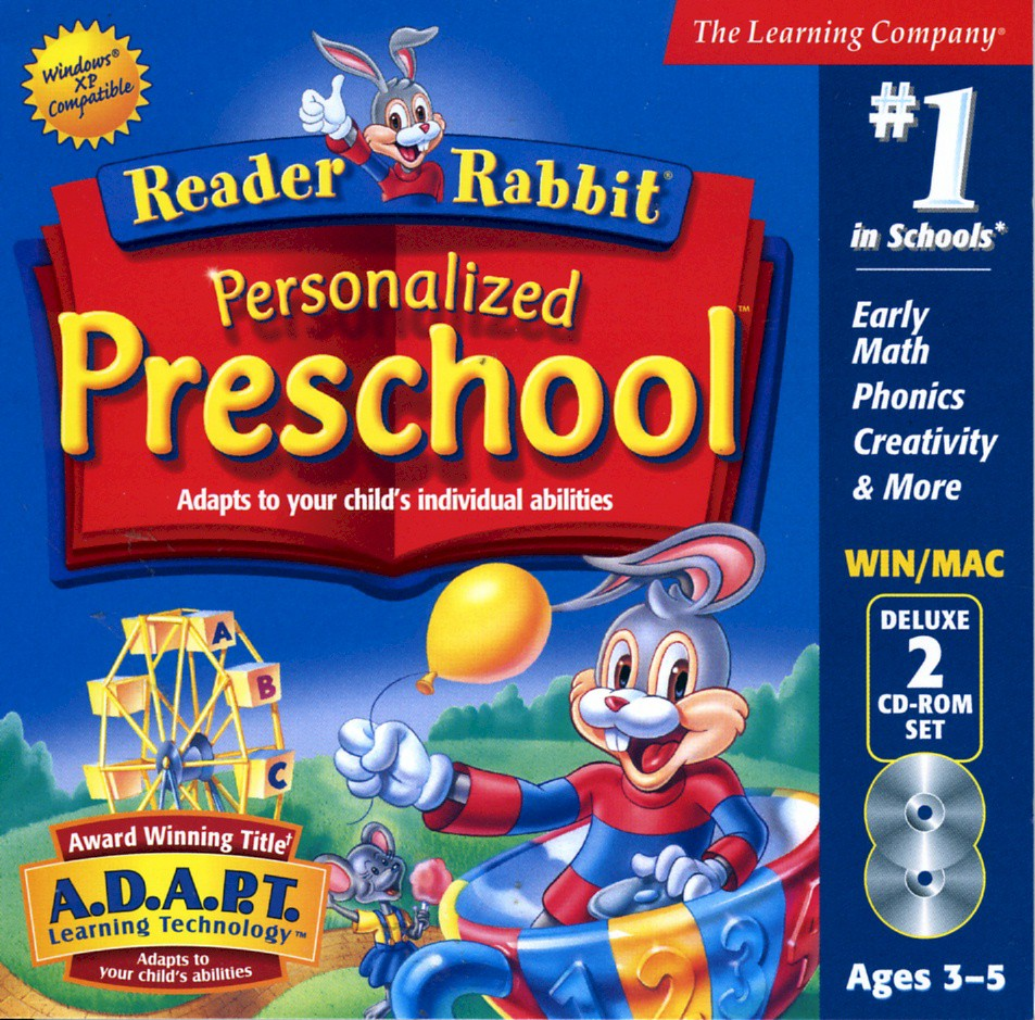 Reader Rabbit Personalized Preschool Details